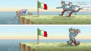 vignetta decreto sicurezza bis