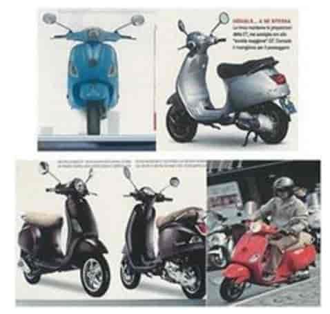 marchio scooter piaggio originale